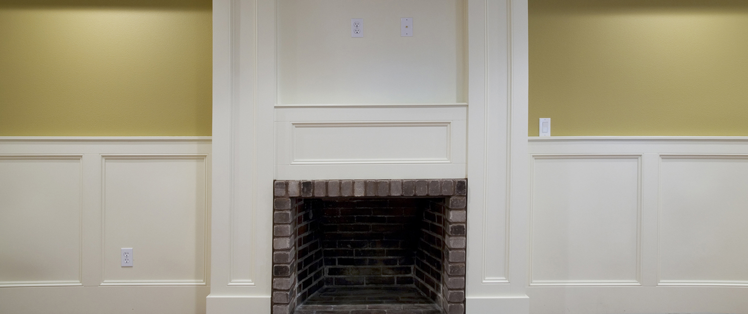 Fireplace Front View